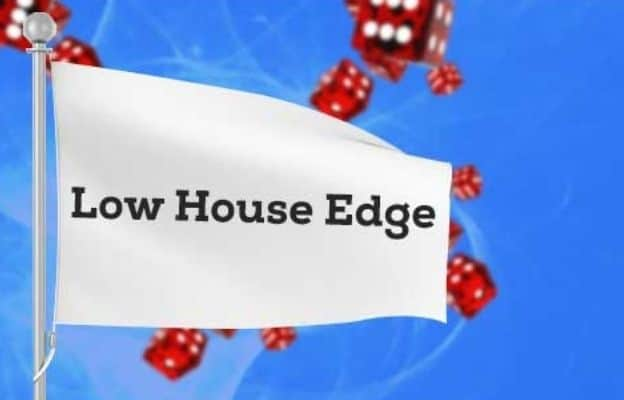 old casino games low house edge
